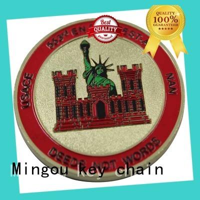 hot-sale custom coins factory price For souvenir Mingou
