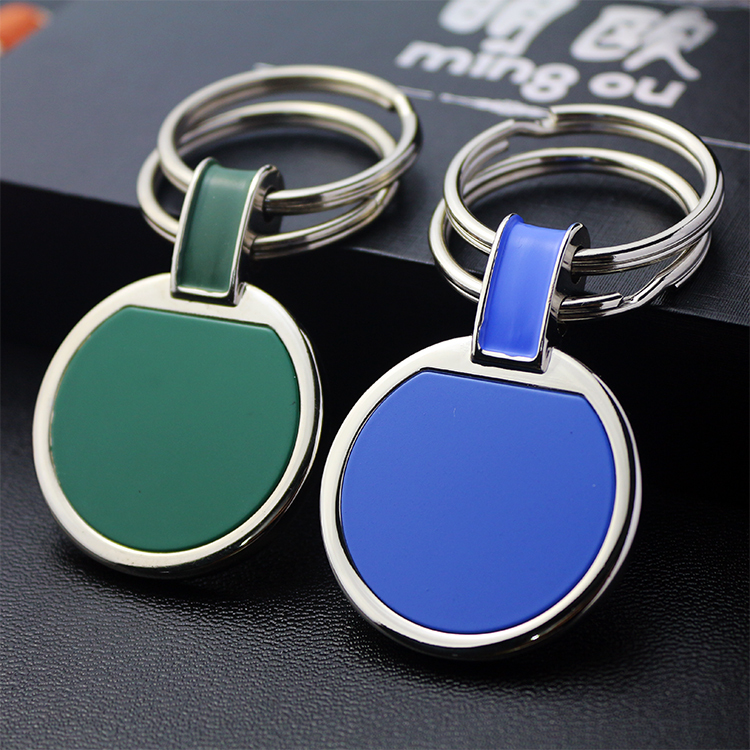 unique keychains enamel finish best keychain keyrings for wholesale