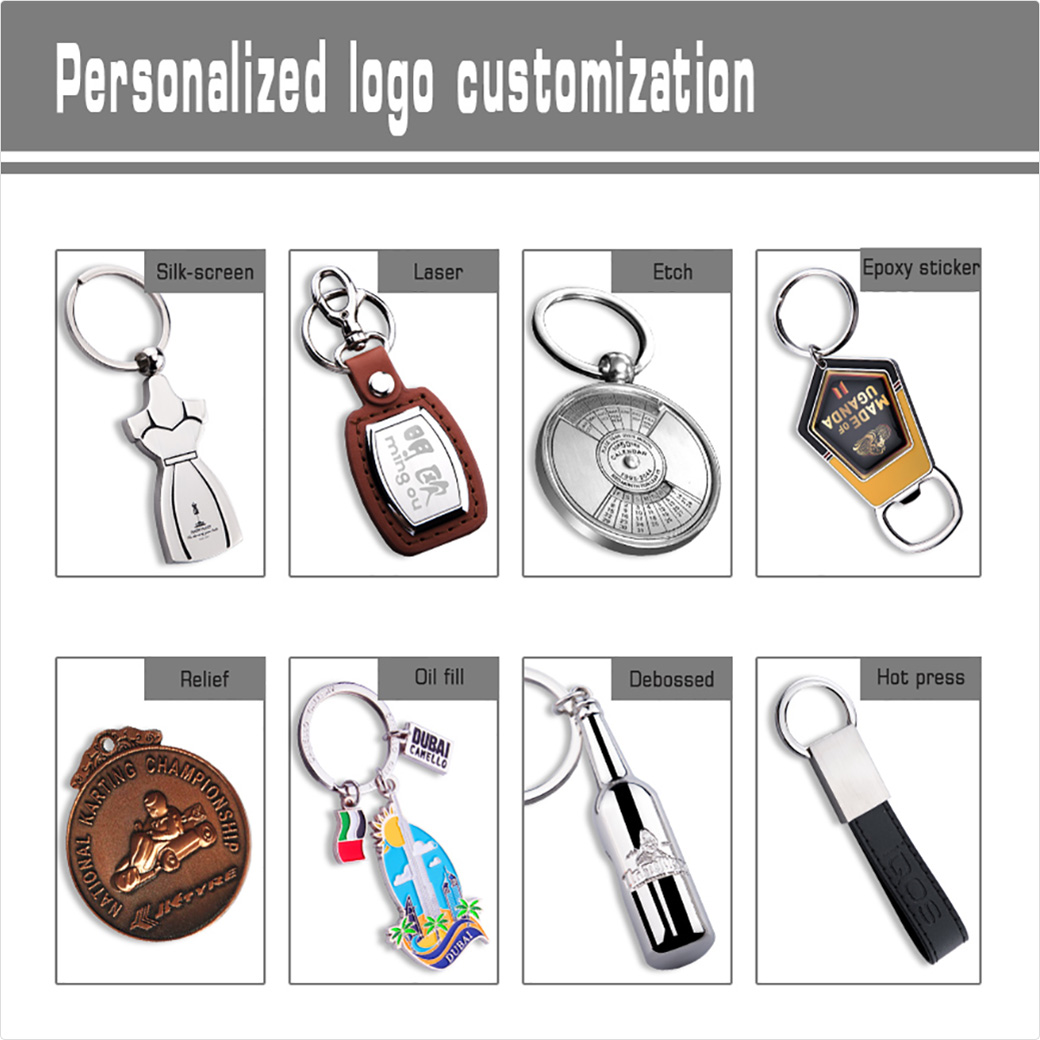 metal keyring promotional keychains cheap  best keychain