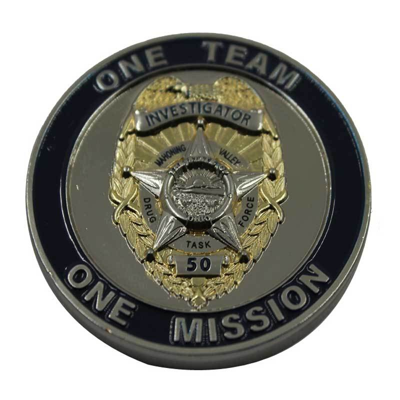 3D Army Using Challenge Coin Custom