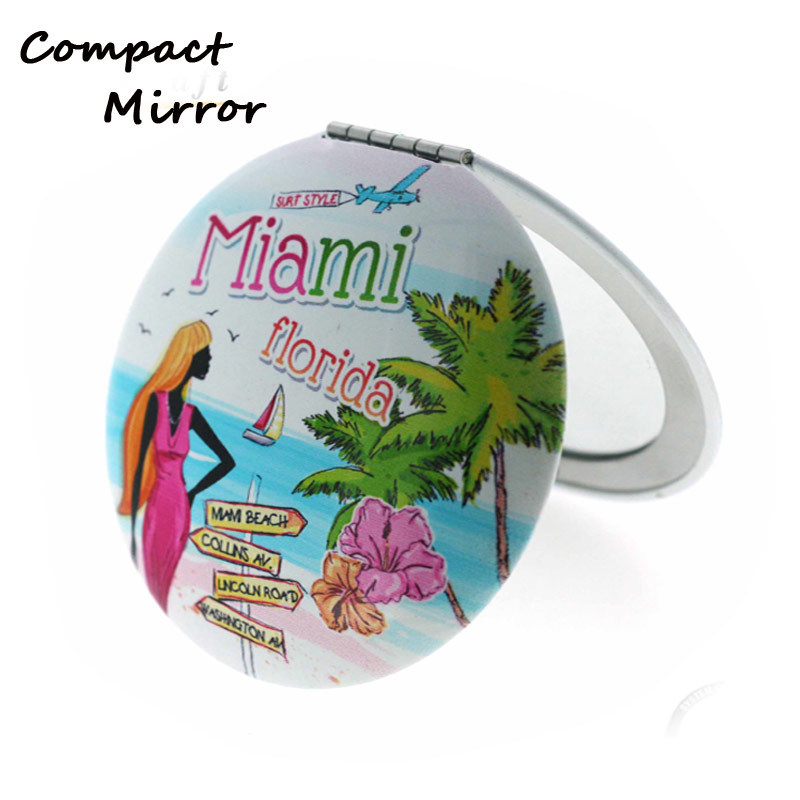 Hot Sale Aluminum Small Mirror For Travel Market