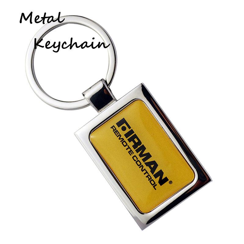 Custom Metal Keychains With Epoxy Sticker Finish Amazon Keyring