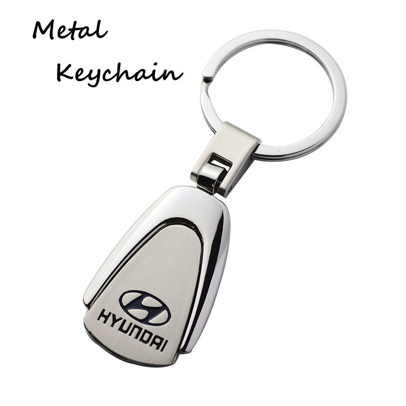 Promotional Car Brand Zinc Alloy Amazon Keychains