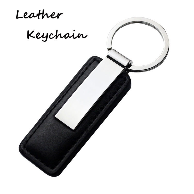 Personalised Shiny Coating leather Key Chain Wholesale