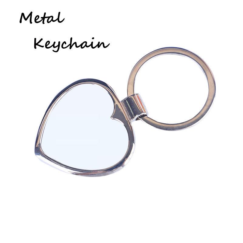 Custom logo Large stock blank metal key chain Zinc alloy keychain Y04106