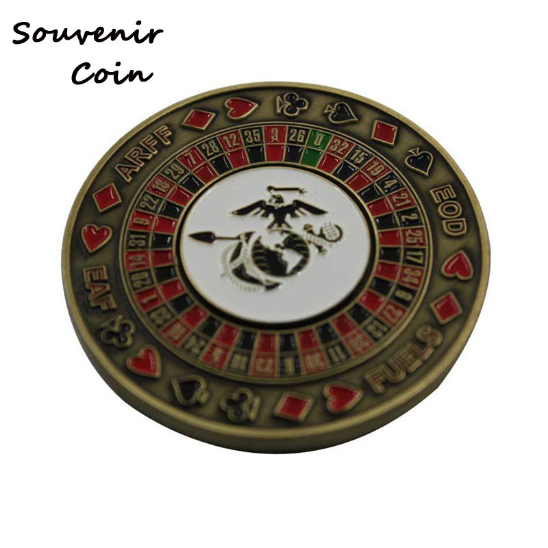 Zinc Alloy 3D Souvenir Coin Custom