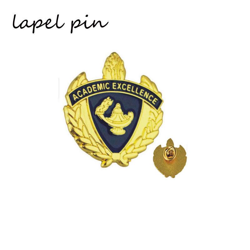 Customized Gold Metal Lapel Pin Emblem