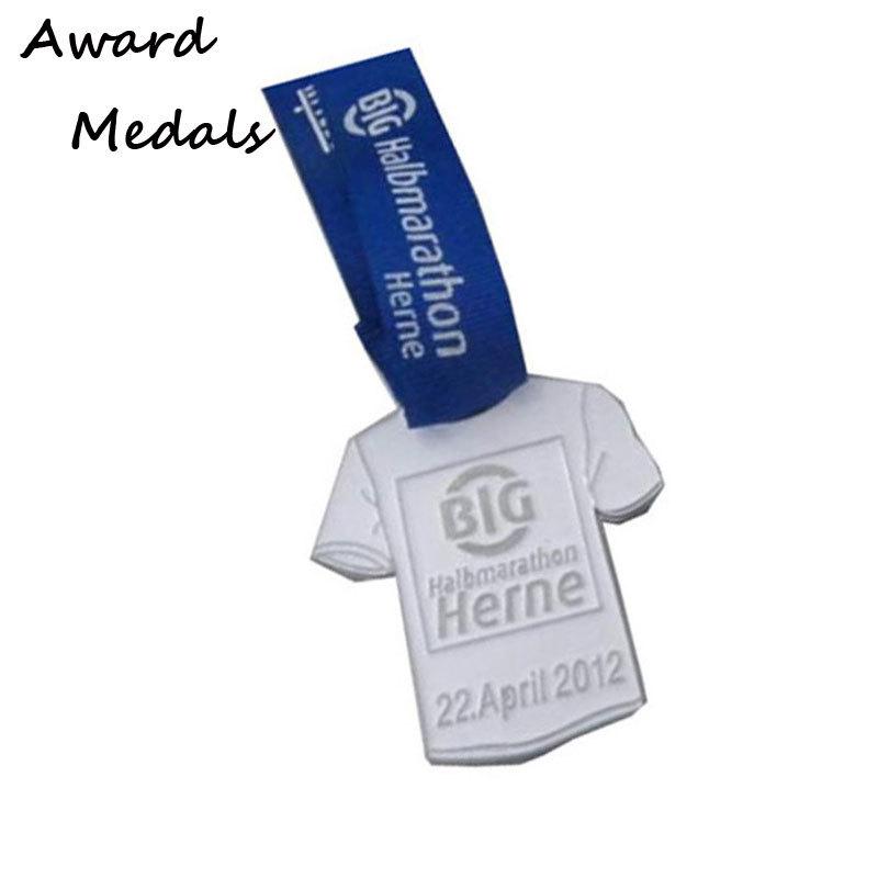 T-shirt Shape Zinc Alloy Medals Customized