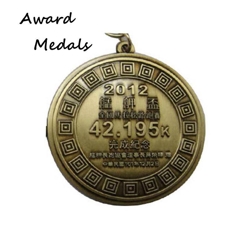 Zinc Alloy 3D embossed Marathon Finisher Medals