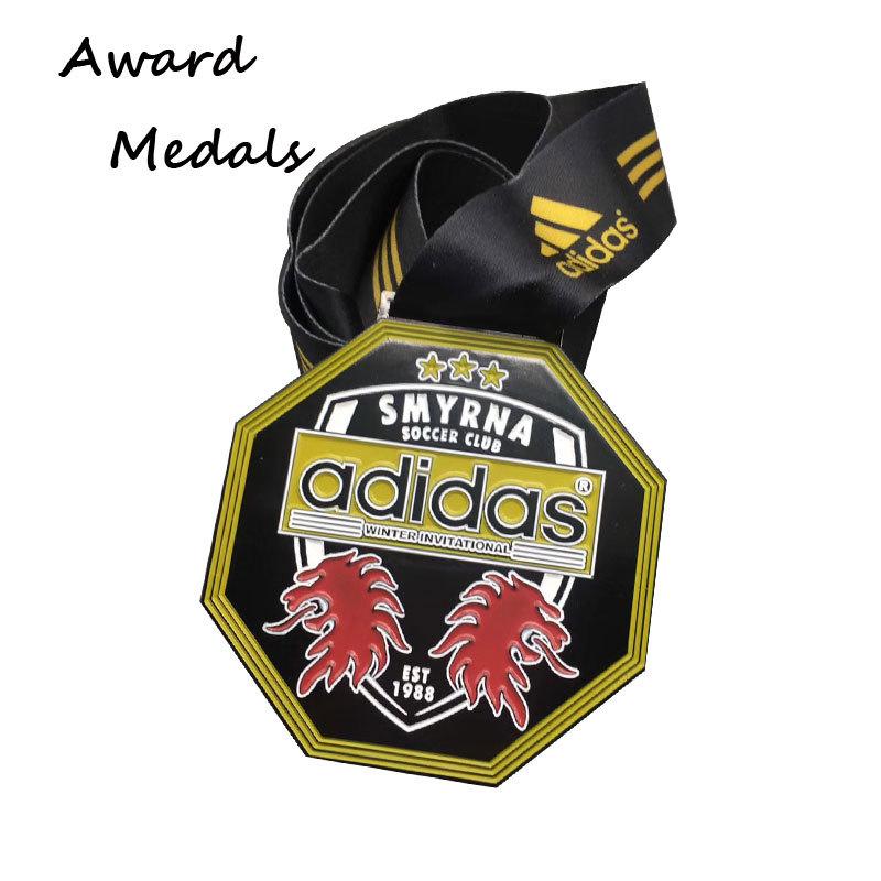 Custom Zinc Alloy Soft Enamel Medals Promotion