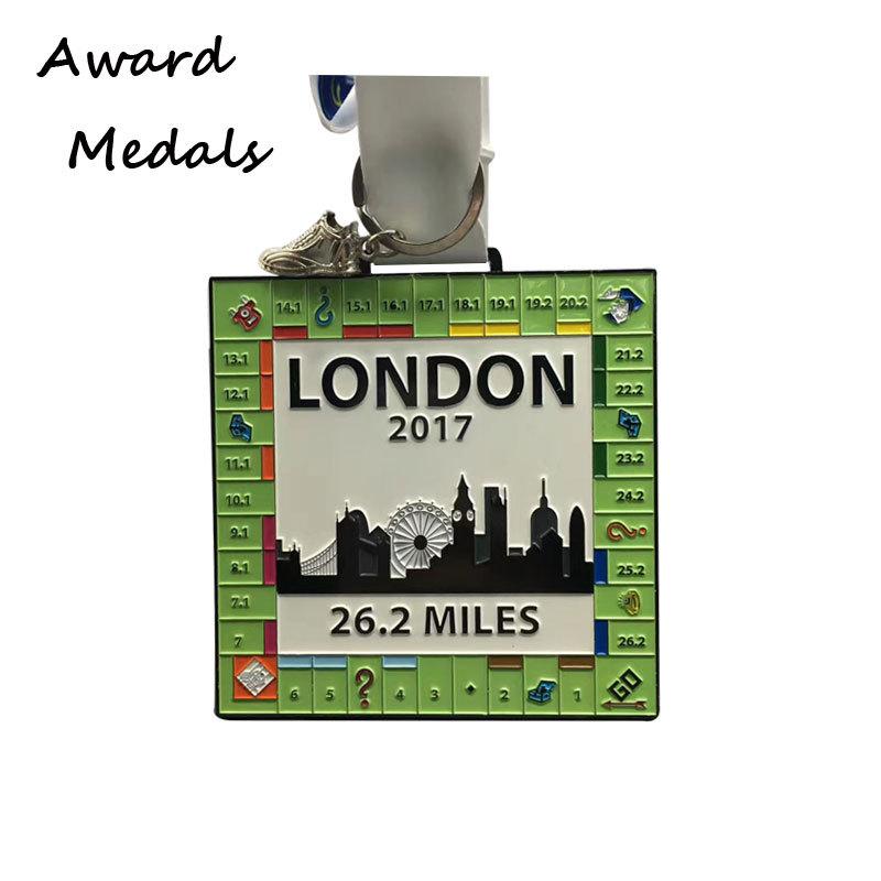 Custom Zinc Alloy Sport Running Medals Wholesale