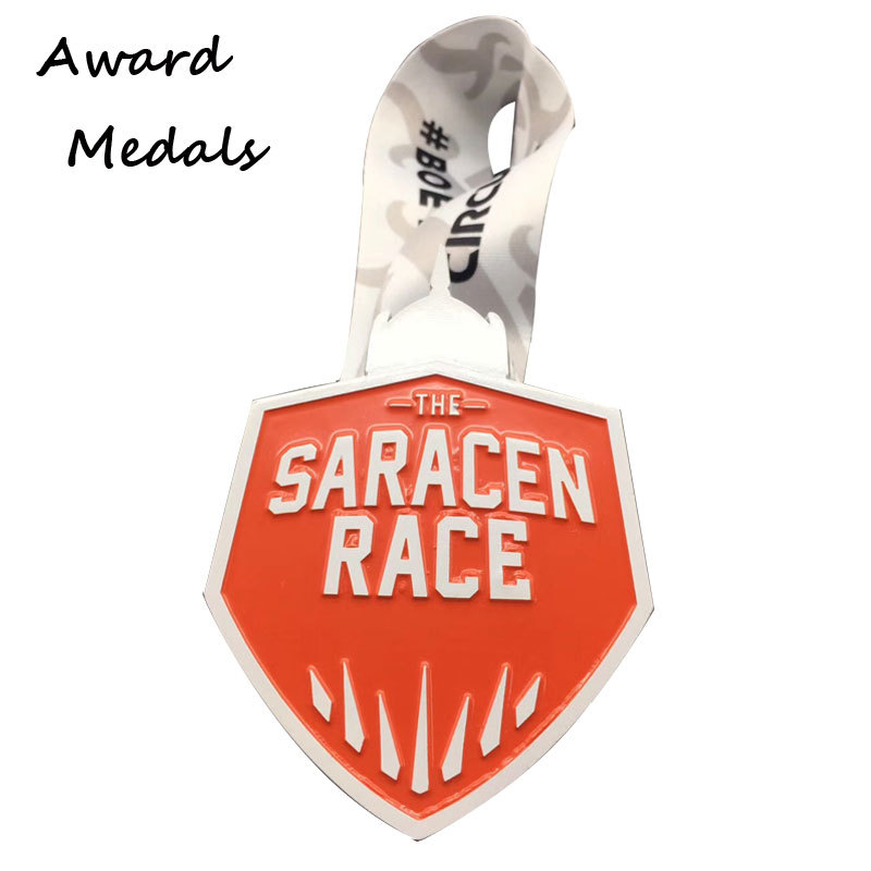 Personalized Design Silver Medals Wholesale