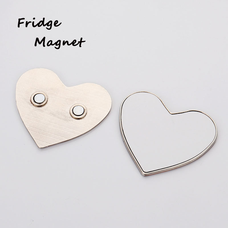 Metal Thermal Transfer Printing Blank Fridge Magnet
