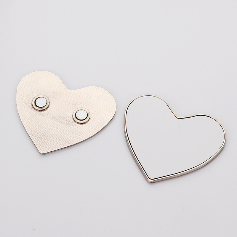 Sublimation Print Heart Magnet For Fridge QT19040