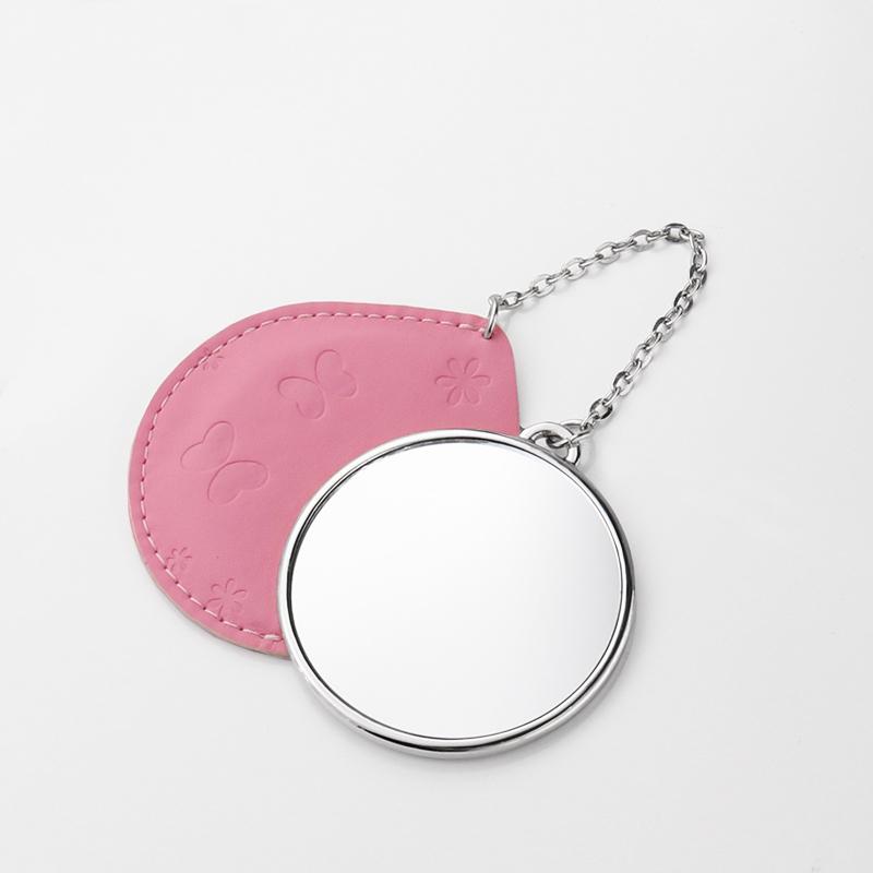Round Shape Sublimation Blank Mirror MOQ 10pcs HZJ19003