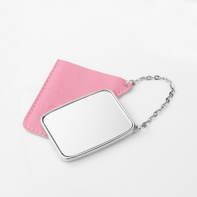Square Metal Blank Small Mirror for Printing HZJ19004