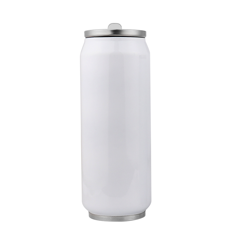 Blank Cola Can Tumbler with Straws For Sublimation BZ20004-450