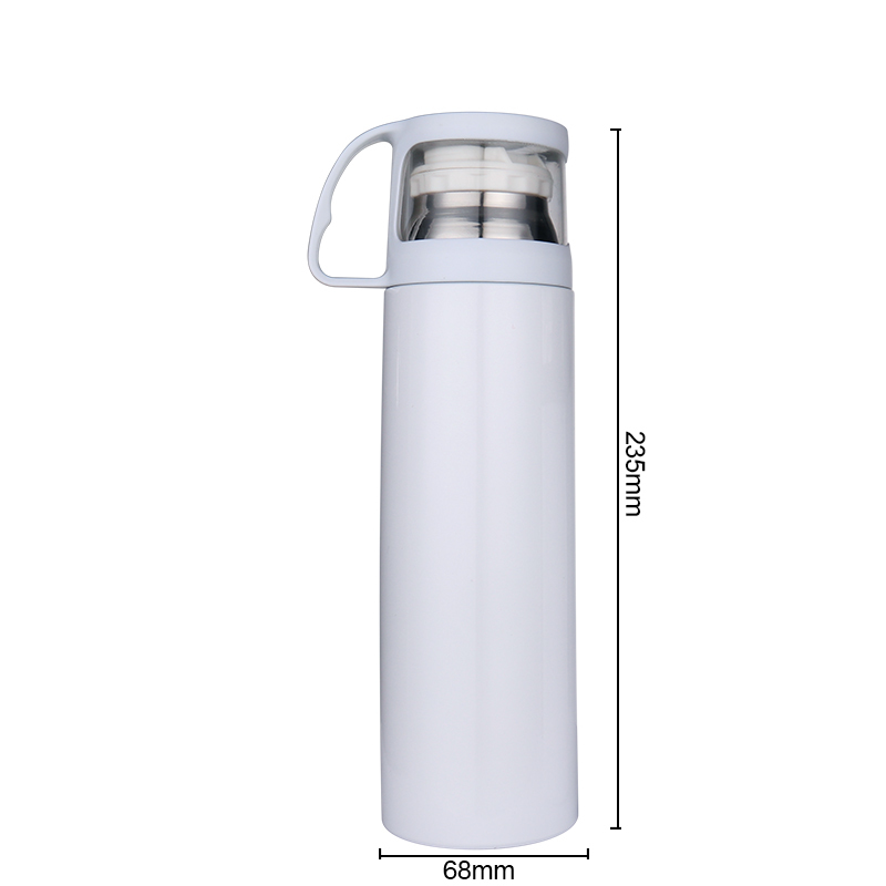 Sublimation Blank Stainless Steel Tumbler With Handle BZ20001-500