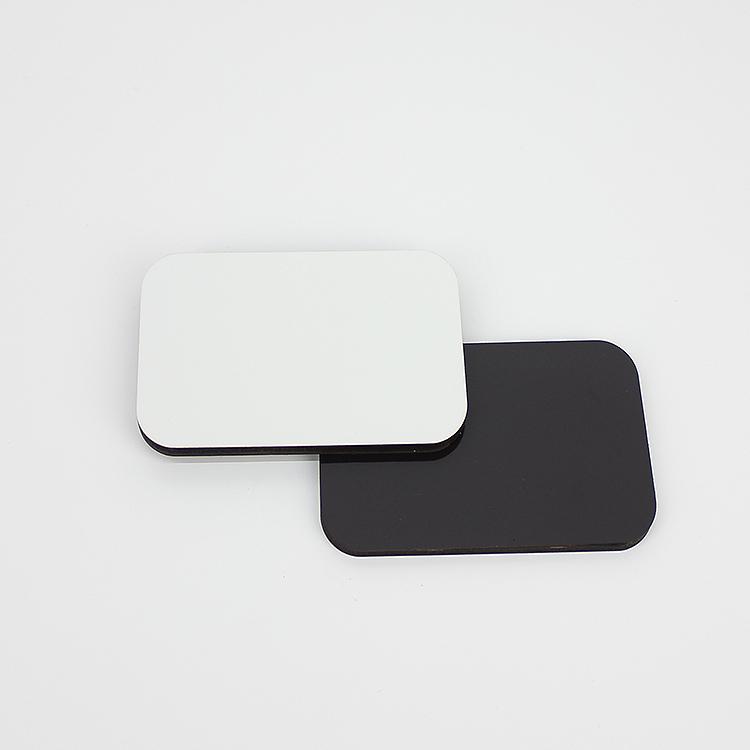 70*50mm MDF Wood Sublimation Blank Magnet MDF19012