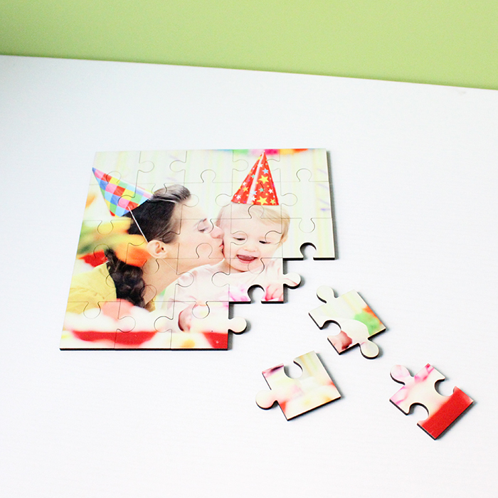 Sublimation MDF Wood 25Pieces Puzzles For Kid MDF19041