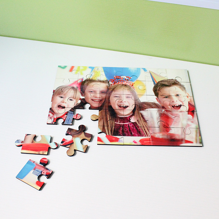 30 pieces Sublimation Blank MDF Puzzle MDF19046