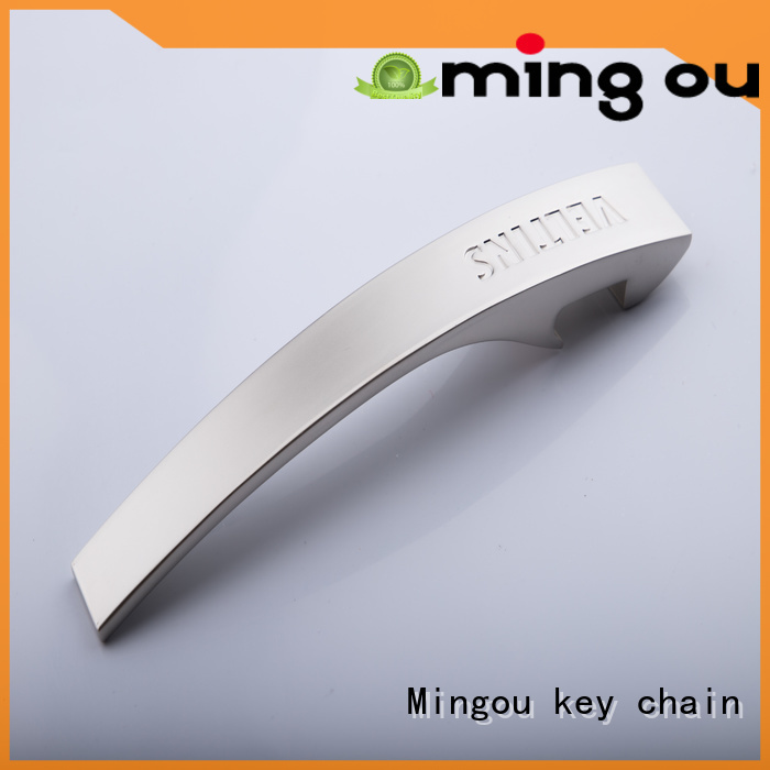 zinc Custom keychain bottle opener keychain originality Mingou